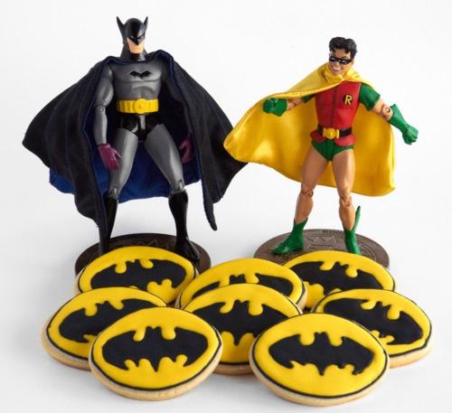 Batman Cookies!
