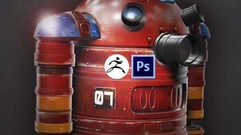 ZBrush and Photoshop Course on Hard Surface modelling | Learn to Create amazing hard surfaces in ZBrush and Photoshop great for beginners to master the tools needed to create