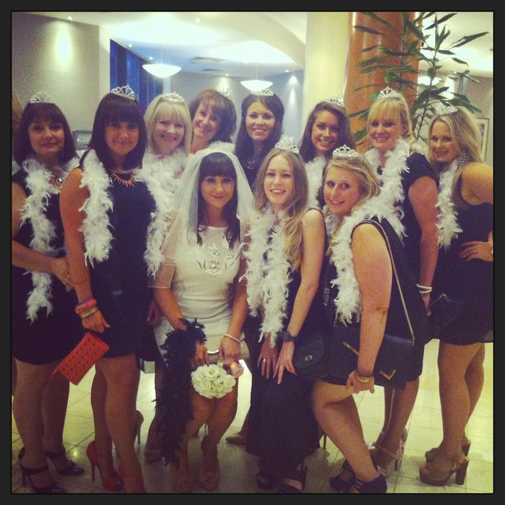 Black And White Hen Party - Classy!