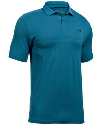 UNDER ARMOUR Under Armour Men'S Heatgear® Jacquard Polo. #underarmour #cloth # golf shop