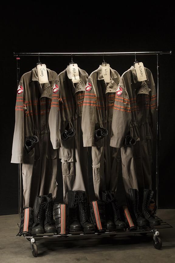 Paul Feig Shares a Photo of the New 'Ghostbusters' Uniforms for His Upcoming Reboot Film