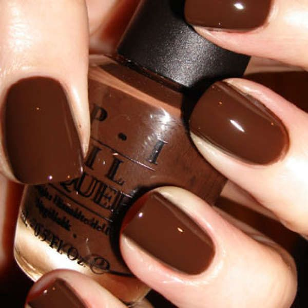 Image Detail For Opi Nail Varnish Suzi Loves Cowboys 15ml Health Beauty Chocolatey Nails Brown Polish