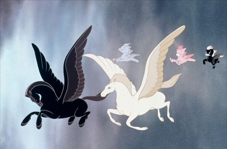 Cute little baby Pegasus' from the Pastoral Symphony sequence in Fantasia. Description from pinterest.com. I searched for this on bing.com/images