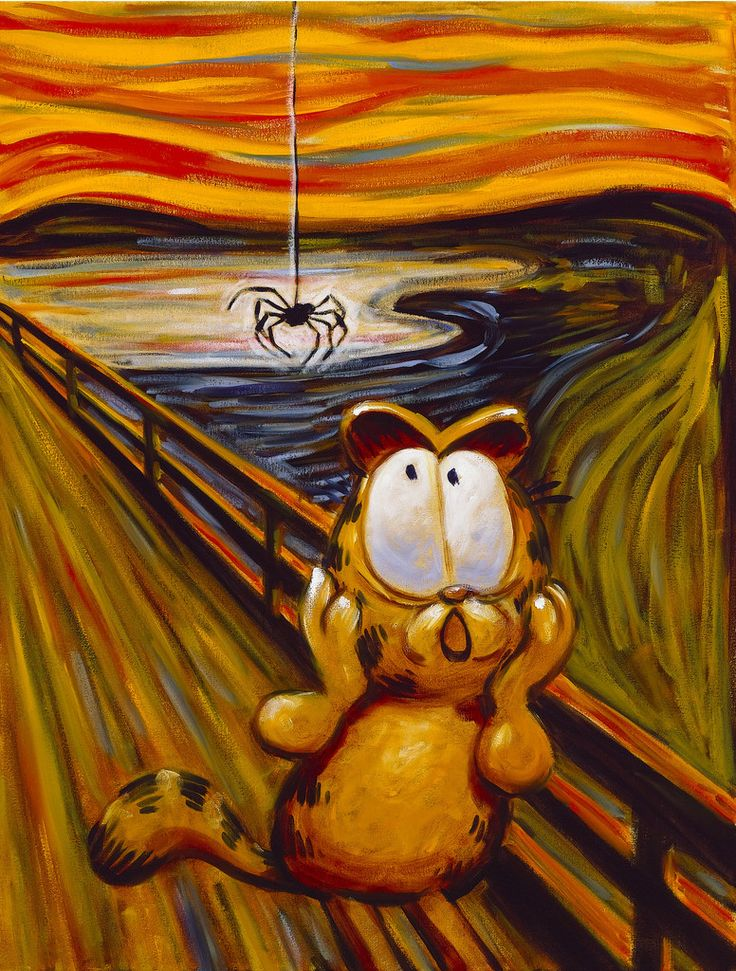 The Big Fat Hairy Scream – Garfield's Art Gallery & Collectibles