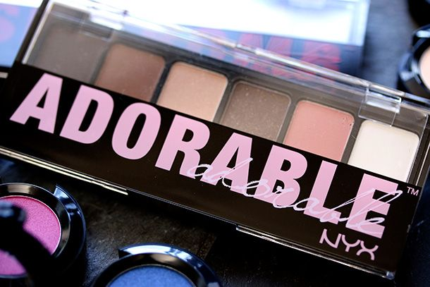 The $7.50 NYX Adorable Palette