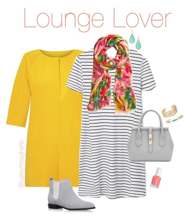 """""""Essie Inspired: Lounge Lover"""" by baileymeaghanb on Polyvore featuring MANGO, Patricia Nash, Nine West, Stella & Dot and Essie"""