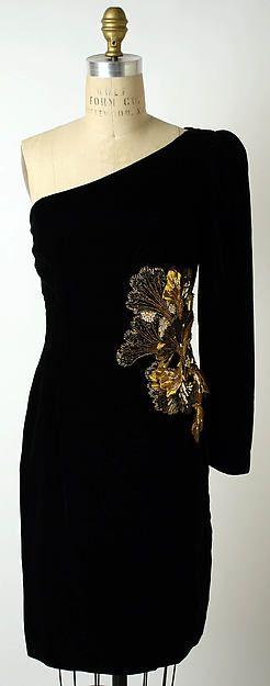 Evening dress by Oscar de la Renta (1996)