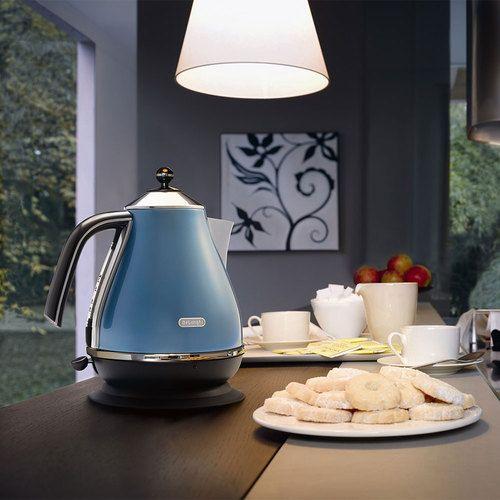 Fierbator Electric Icona Alb DeLonghi KBO 2001 W, Cu Baza Rotativa. Find  This Pin And More On Blue Kitchen Accessories ...