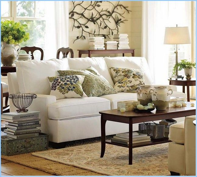 pottery barn living room google search