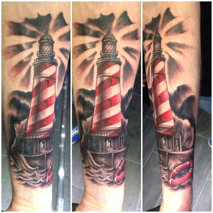 Lighthouse tattoo lighthouse tattoo pinterest - Leuchtturm tattoo bedeutung ...