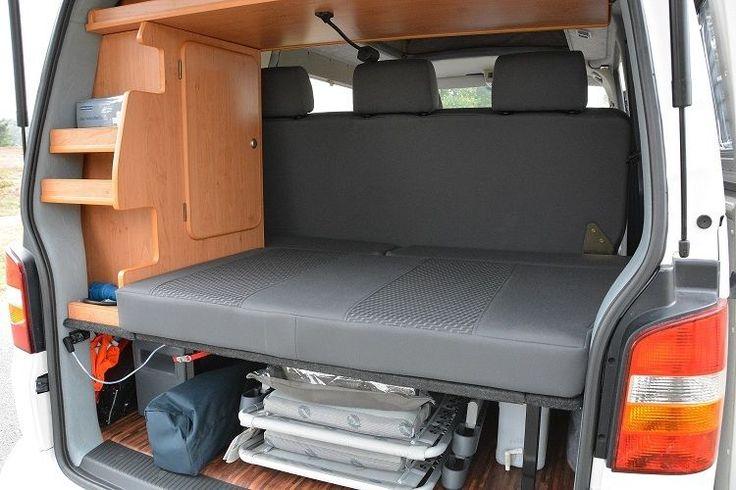 vw bus t 5 klappsitzschlafbank mit kopfst tzen neu. Black Bedroom Furniture Sets. Home Design Ideas