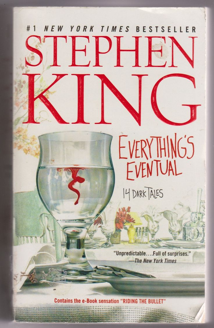 Stephen King Everything's Eventual Paperback (used)