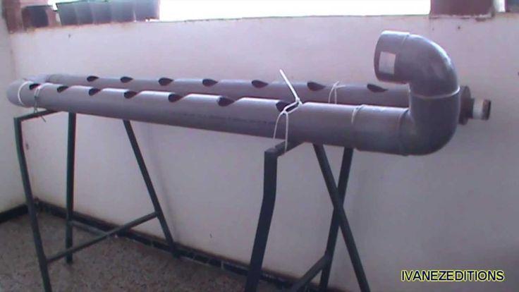Como hacer un sistema hidropónico casero