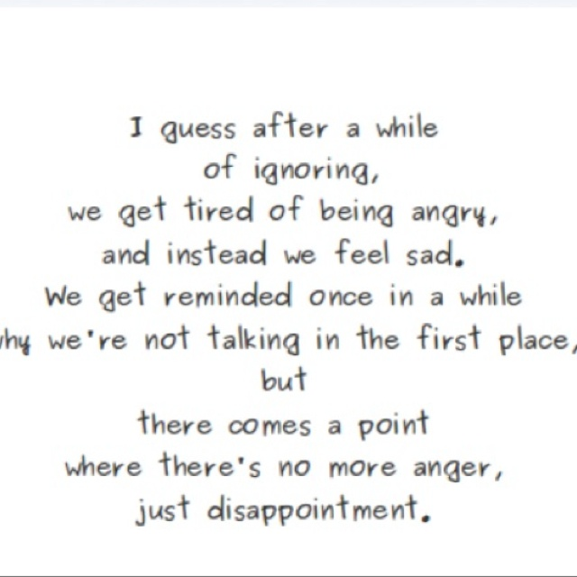 Sad Disappointed Quotes Wallpapers And Images: Whats In A Word
