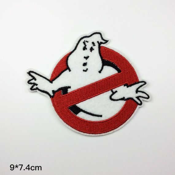 Ghost Busters Ghostbusters patch movie role patch cute funny Embroidery patches patch Embroidered patch iron on patch sew on patch A137