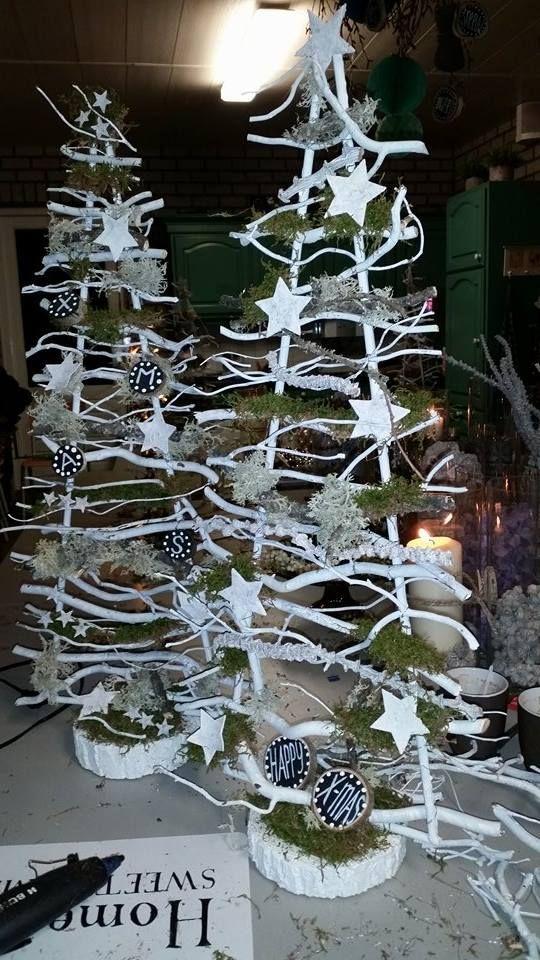 kerstboompjes  www.decoratietakken.nl