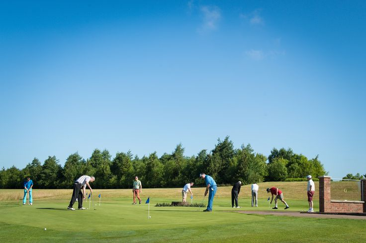 Practice on the putting green - there's something for everyone at Greetham Valley, from golfing enthusiasts through to absolute beginners.