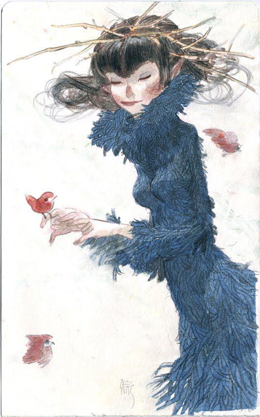 Yaxin the Faun: Snow White & Lady Rime