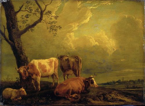 Paulus Potter, Cattle and Sheep, after 1650