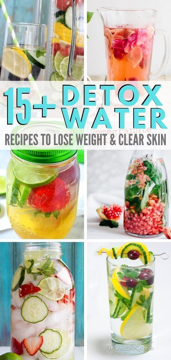 Detox water is are amazing for weight loss, clearing your skin, boosting immunit… – Natural Remedies