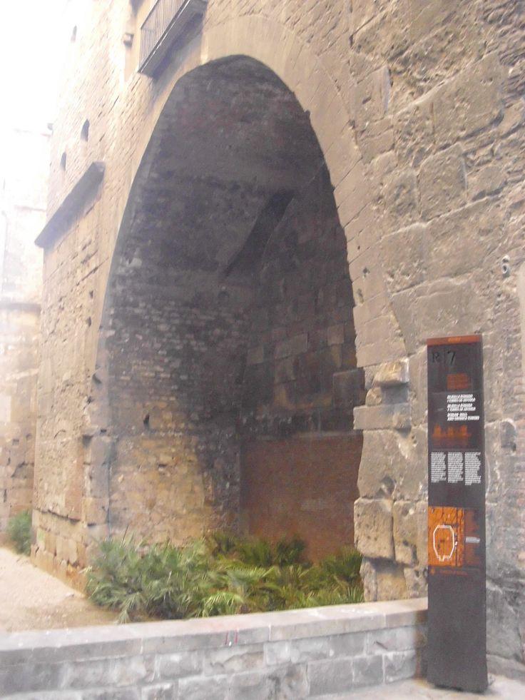 Parte de la antigua Muralla Romana