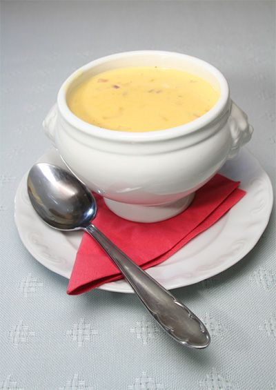 Potage au fromage