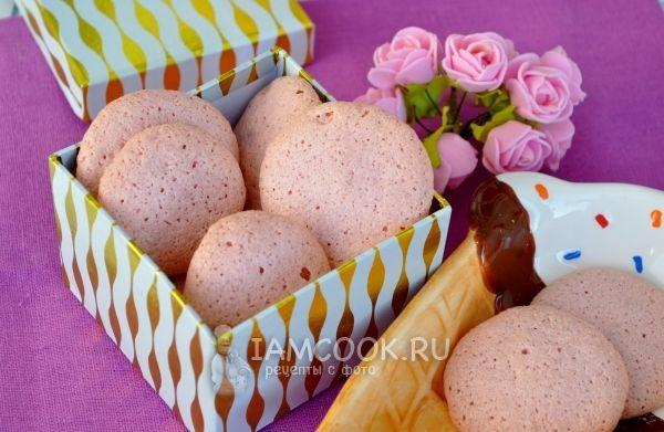Фото печенья из миндальной муки
