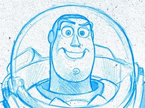 How to draw like PIXAR (Toy Story, Wall E, Monsters Inc, Up and more..) by Kyle Lambert