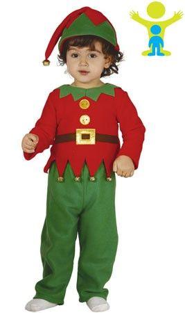 Disfraz de Elfo Cascabeles bebé