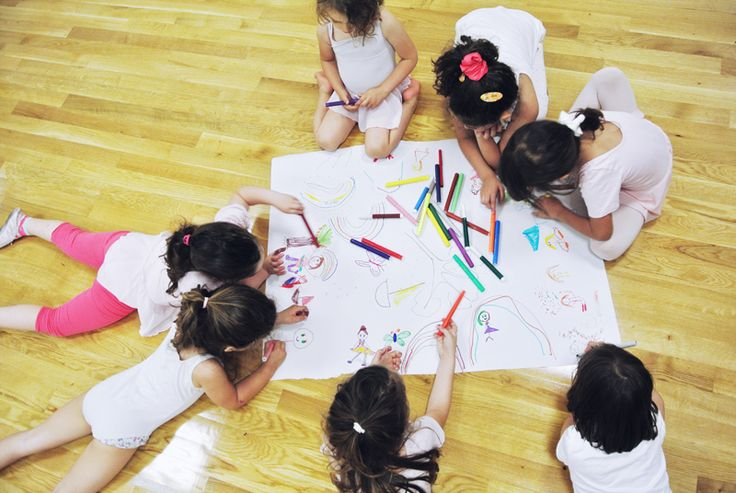 drawing what we learned in preschool ballet class! | kinoume studio | thessaloniki