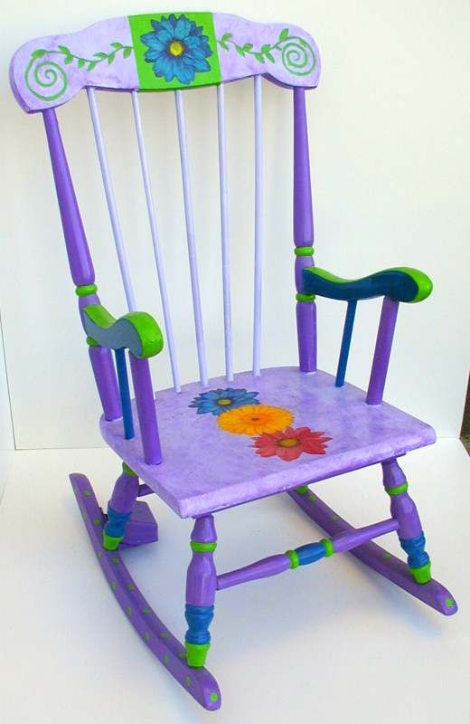 ... rocking chairs on Pinterest  Painted chairs, Furniture and Child