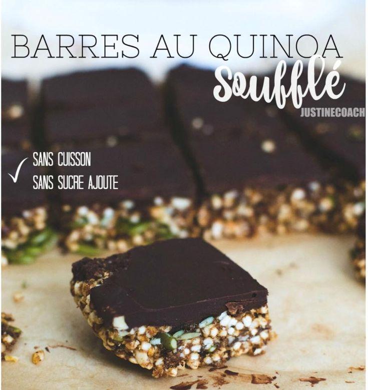 0 Barres au quinoa soufflé