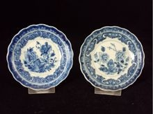 A Pair of Gorgeous Blue and White Porcelain Plate, Qianlong Period(1735-1795)