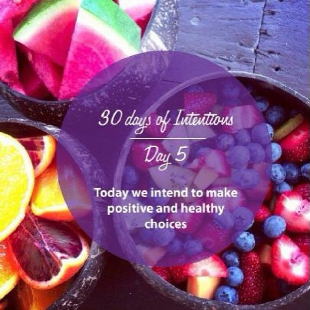 Day 5: 30 days of intentions. Today we intend to make positive and healthy choices #health #wellness #dailyintention #affirmation #stralastyle