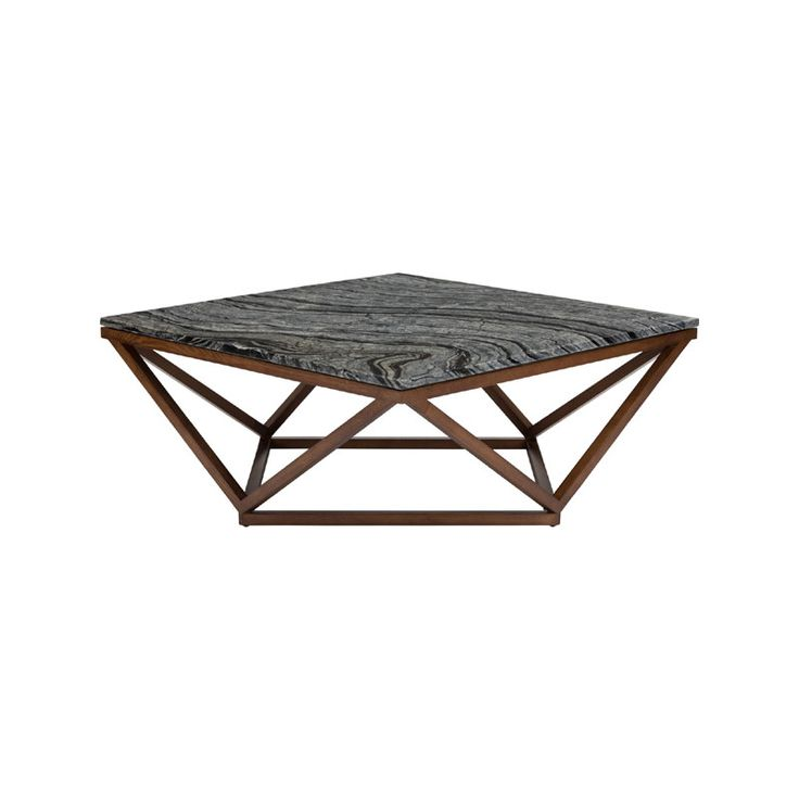 Jasmine Black Stone Coffee Table