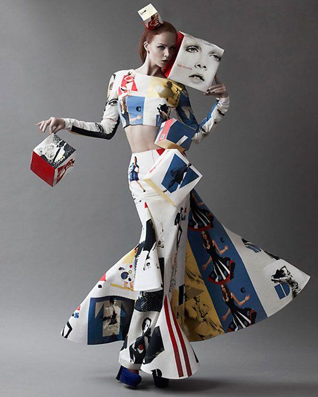 avant garde fashion | Avant-garde fashion by Tina Kalivas » Lost At E Minor: For creative ...