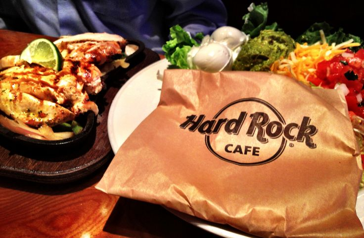 Hard Rock Cafe Food