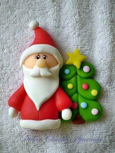 Resultado de imagen para imanes en porcelana todo de navidad