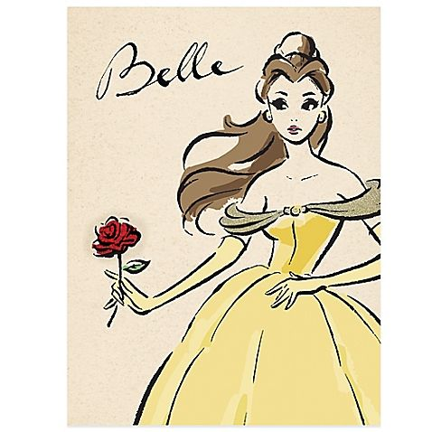 Stylishly dressed and oh so sassy, the Disney Princess Belle the Fashionista Wall Décor will add a delightfully chic touch to your bedroom. Enjoy the magic that only a beautiful princess of Disney can bring.