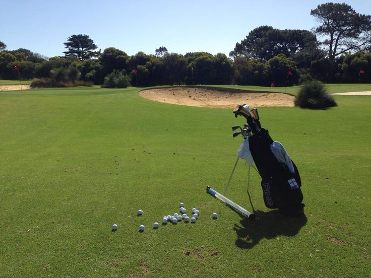 Chipping and Bunker area at Royal Fremantle Golf Club