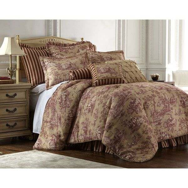 Sherry Kline Cassandra Toile 4-piece Luxury Comforter Set