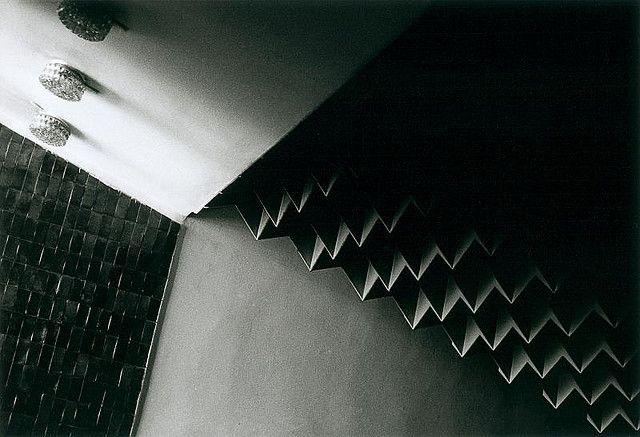 Restautant hall ceiling, Opole (PL), late 50's (foto Leszek Golubiński via flickr)