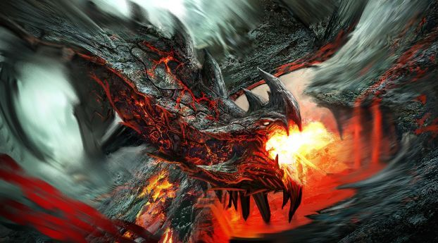 Dragon Fire Breathing Flame Wallpaper Hd Fantasy 4k Wallpapers Images Photos And Background Wallpapers Den Fire Art Fire Dragon Dragon Art Cool dragon wallpaper download