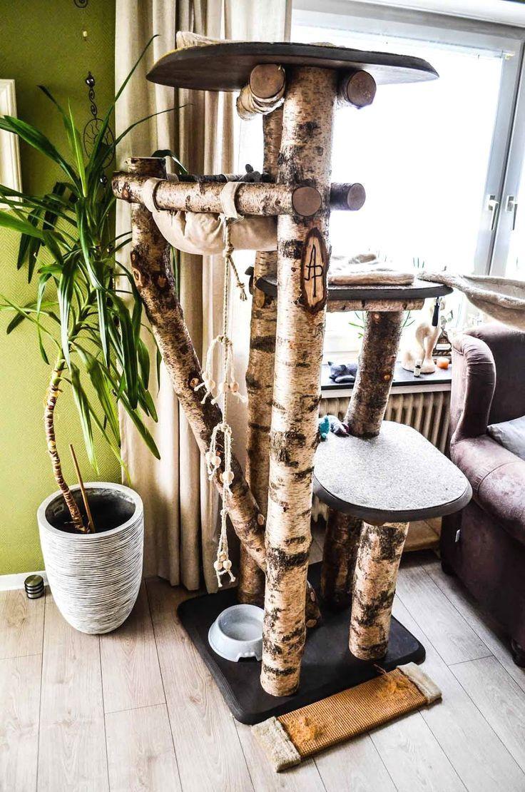 100 Katzenkratzbaum Selbst Bauen Bilder Ideen Kratzbaum Selber