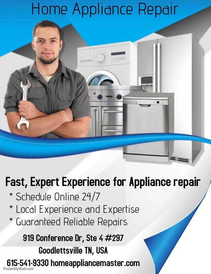 Home Appliance Repair Service Near Me Appliance Repair Logo Appliance Repair Service Appliance Repair