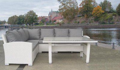 montreal stylestation utemöbler hörnsoffa hultarps utemöbler trädgårdsmöbler matgrupp bord soffa