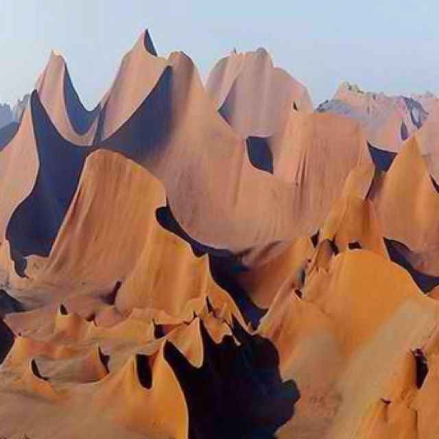 Sand dunes, Namibia - incredible!