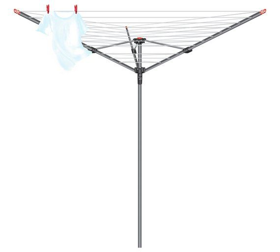 Buy Vileda 30m 3 Arm Rotary Washing Line at Argos.co.uk, visit Argos.co.uk to shop online for Washing lines and airers, Laundry and cleaning, Home and garden
