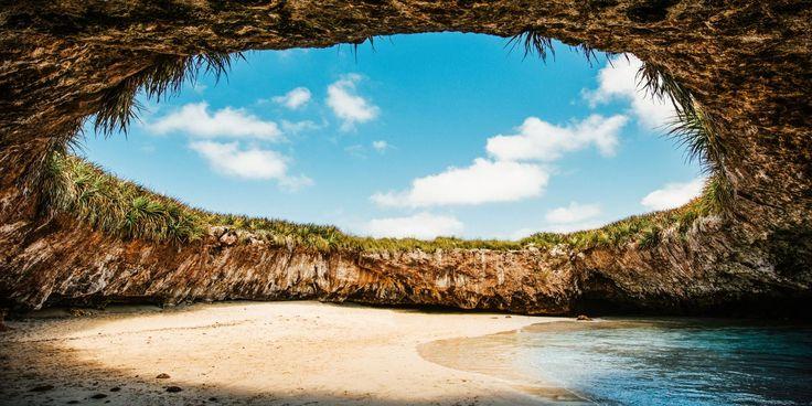 La Playa Escondida, Mexico - HarpersBAZAAR.com
