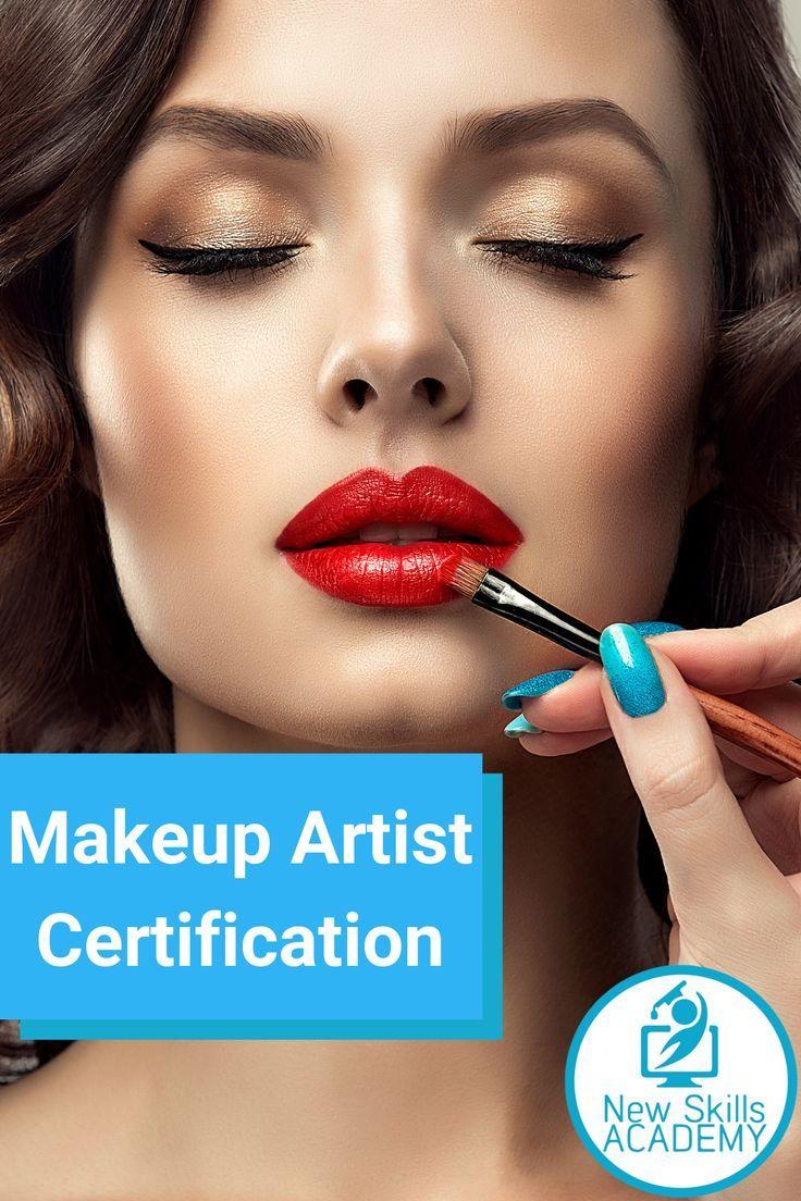 Makeup Artist Certification Only 25 Usd In 2020 Makeup Artist Certification Makeup Makeup Certification